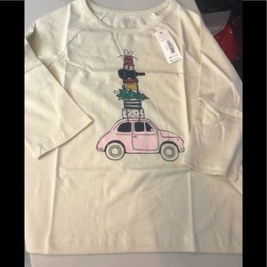GYMBOREE HOLIDAY YOUTH 7/8 COTTON TEE NEW